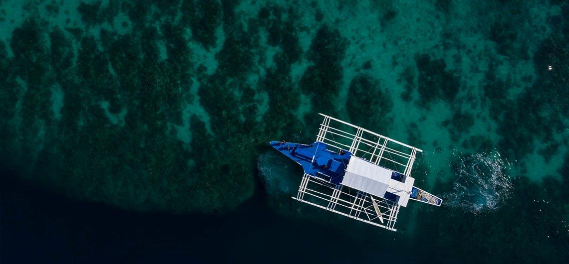 Local Philippine boat