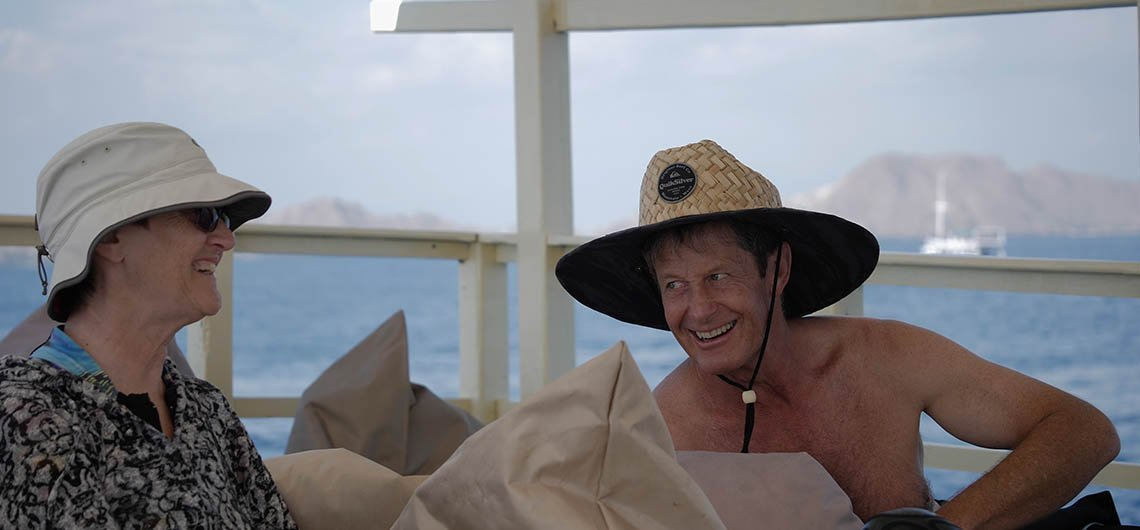 Snorkel Venture customers laughing