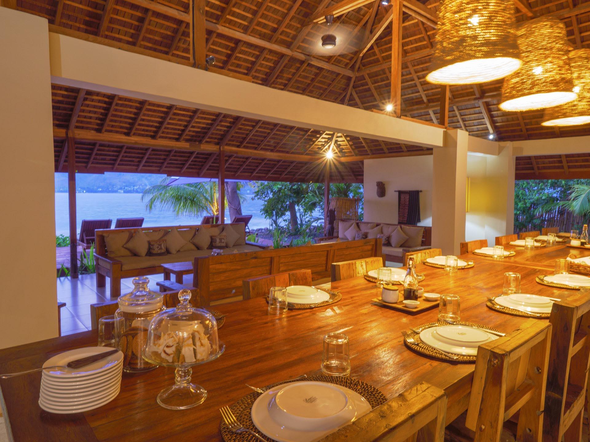 Alami Alor Resort's dining room