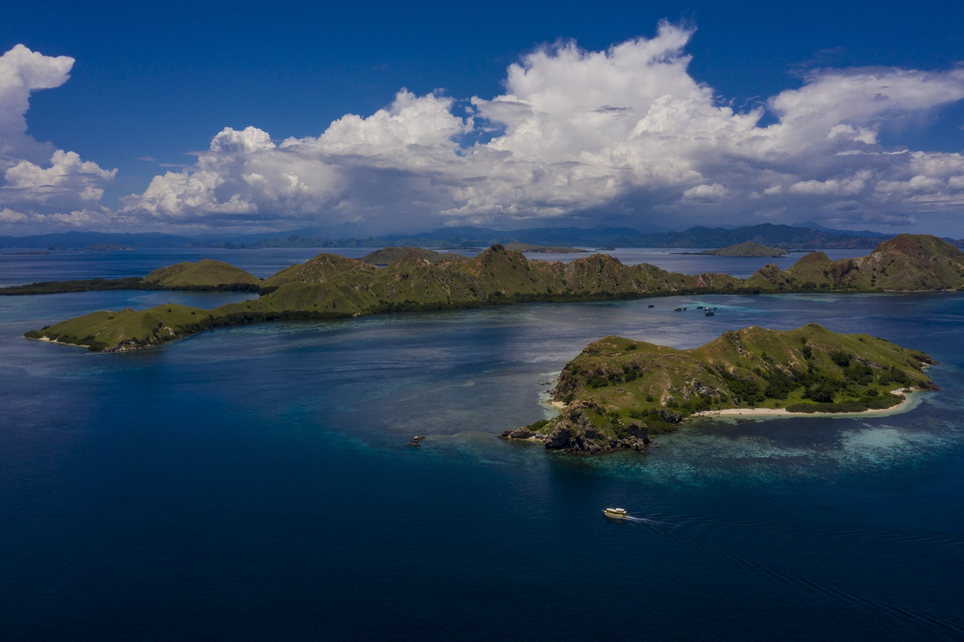 Komodo National Park Aerial