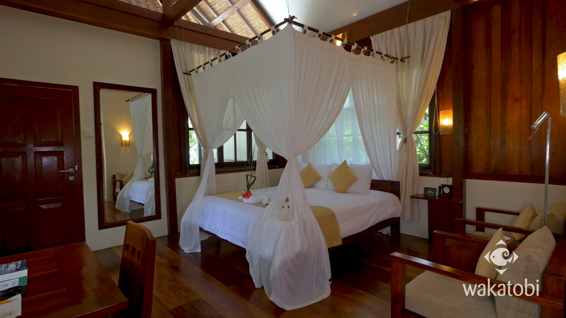 Wakatobi Resort's rooms