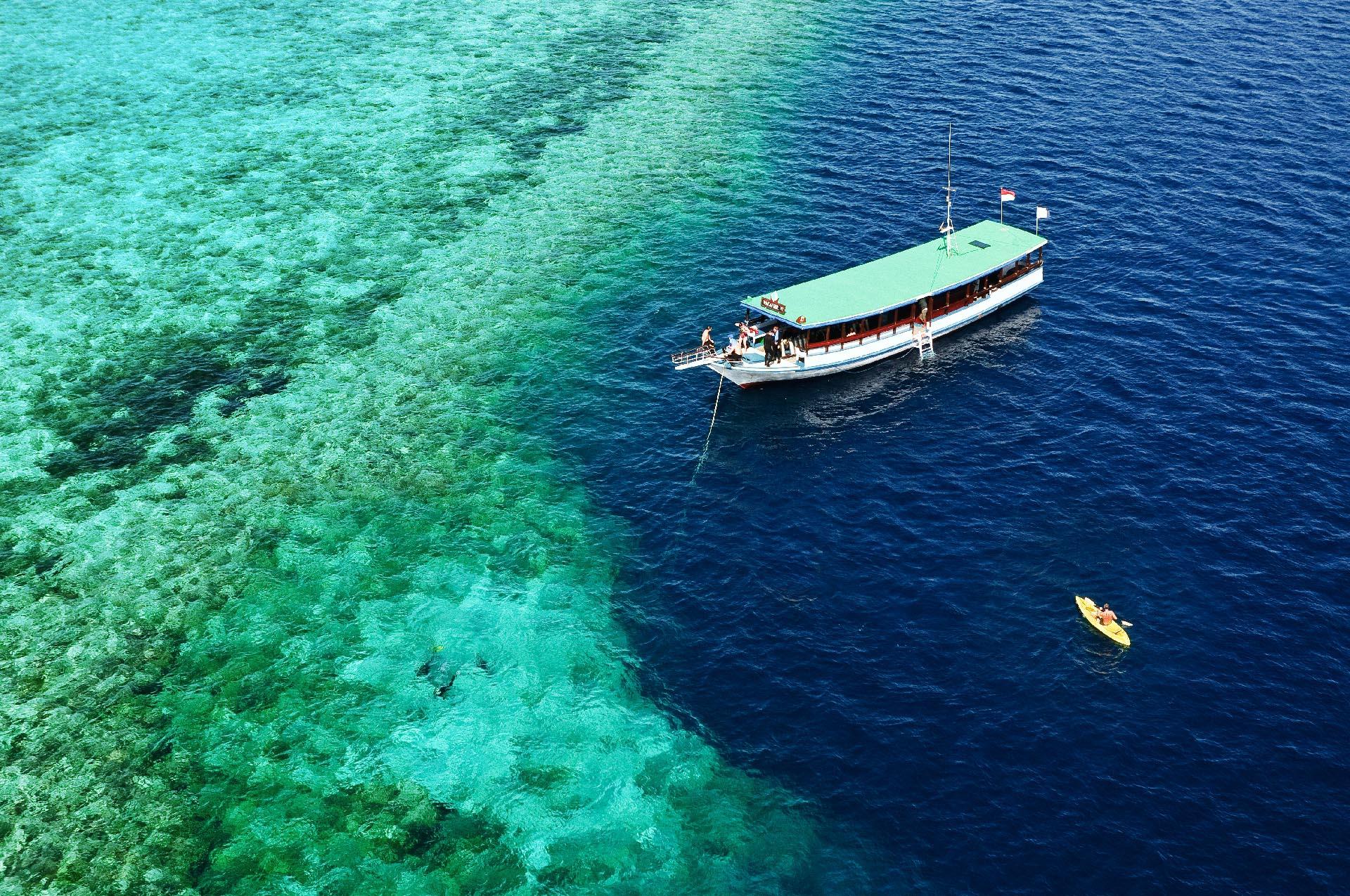 Wakatobi Snorkel Boat