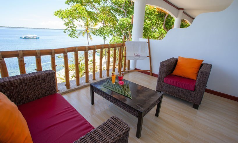 Pura Vida resort balcony