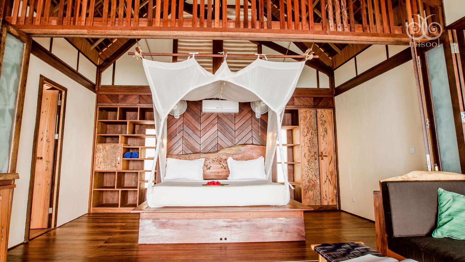 Misool resort bungalow