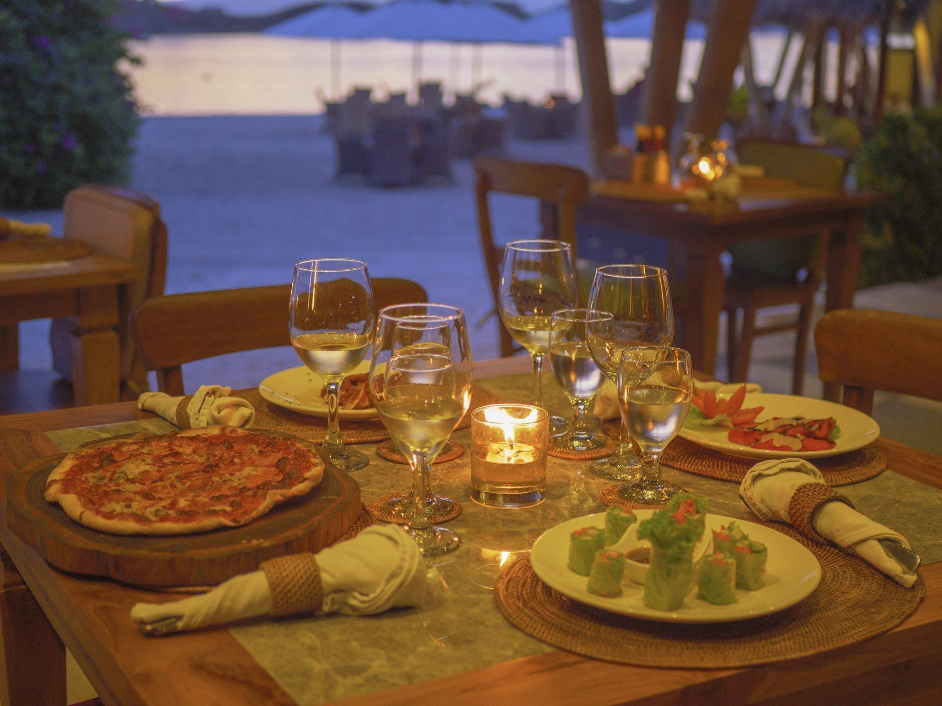 Komodo Resort Food
