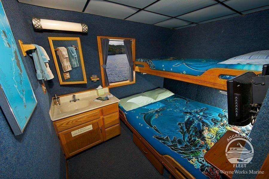 Palau Aggressor III cabin